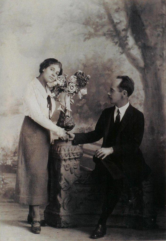 Tina Modotti and Edward Weston, 1924