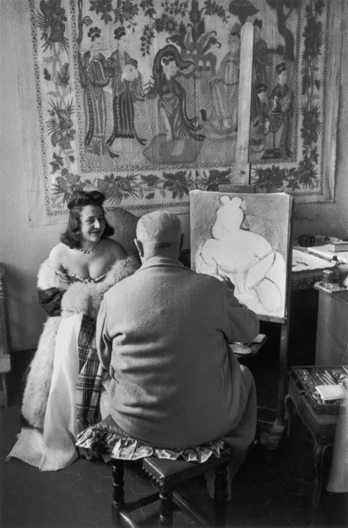 1944, Matisse painting