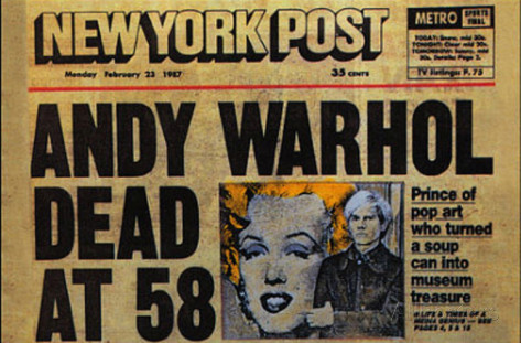 andy-warhol-dead-ny-post-headline-postcard-pop-art
