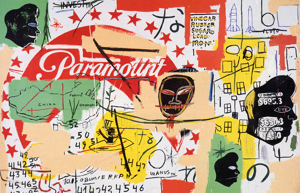 """The Unfortunate Couple, 1"" Warhol/Basquiat collaboration"