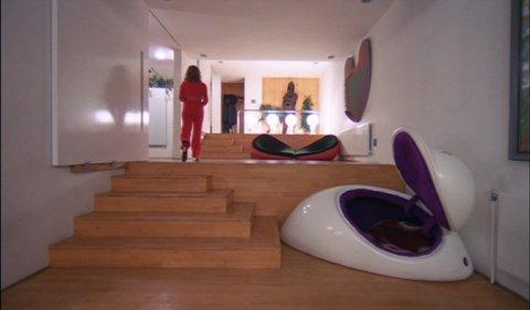 """Retreat Pod Chair,"" in the film, ""A Clockwork Orange"""