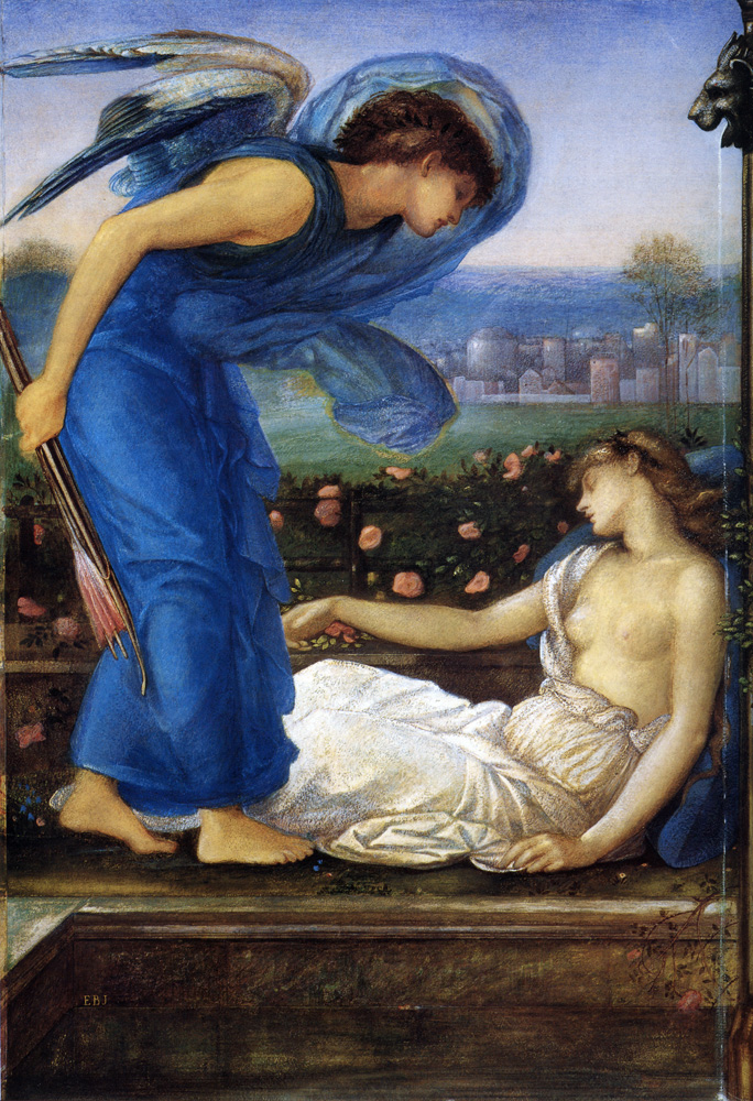 """""""Cupid Finding Psyche,"""""""