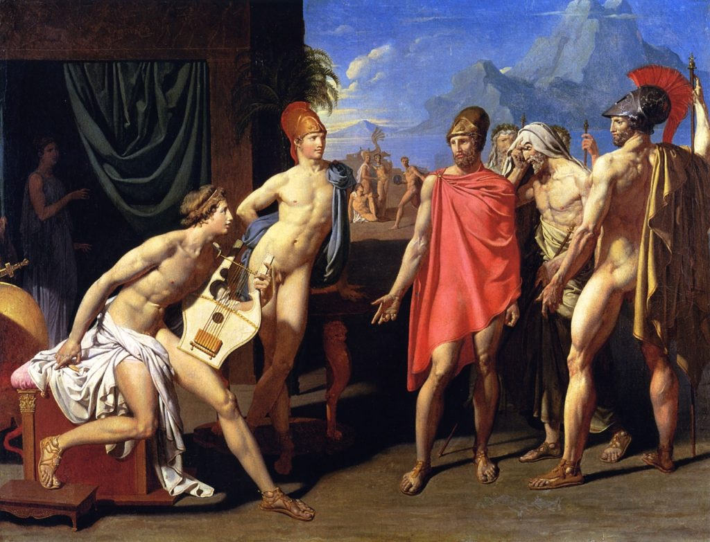 """The Envoys Of Agamemnon,"" 1801"
