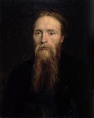 Portrait of Edward Burne-Jones, by George Frederick