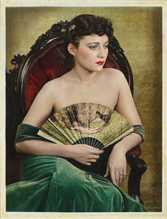 """Girl With A Fan,"" 1936"