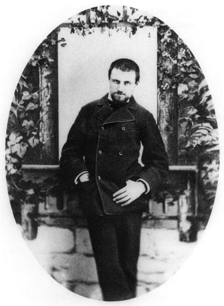 CHT233761 Gustave Caillebotte (1848-94) c.1874-75 (b/w photo)  by French Photographer, (19th century); black and white photograph; Bibliotheque des Arts Decoratifs, Paris, France; Archives Charmet; French, out of copyright
