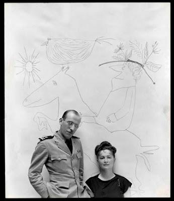 Saul Steinberg and Hedda Sterne