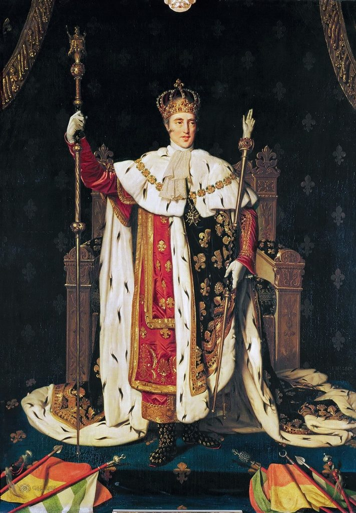 """Portrait of Charles X in Coronation Robes,"" 1829"
