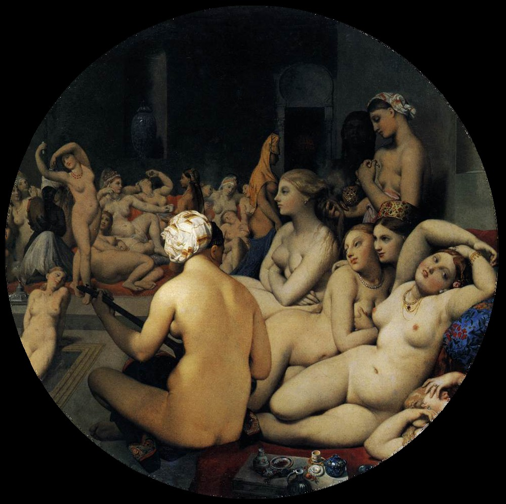 """The Turkish Bath,"" 1863"