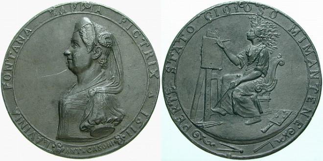 lavinia_fontana_medal
