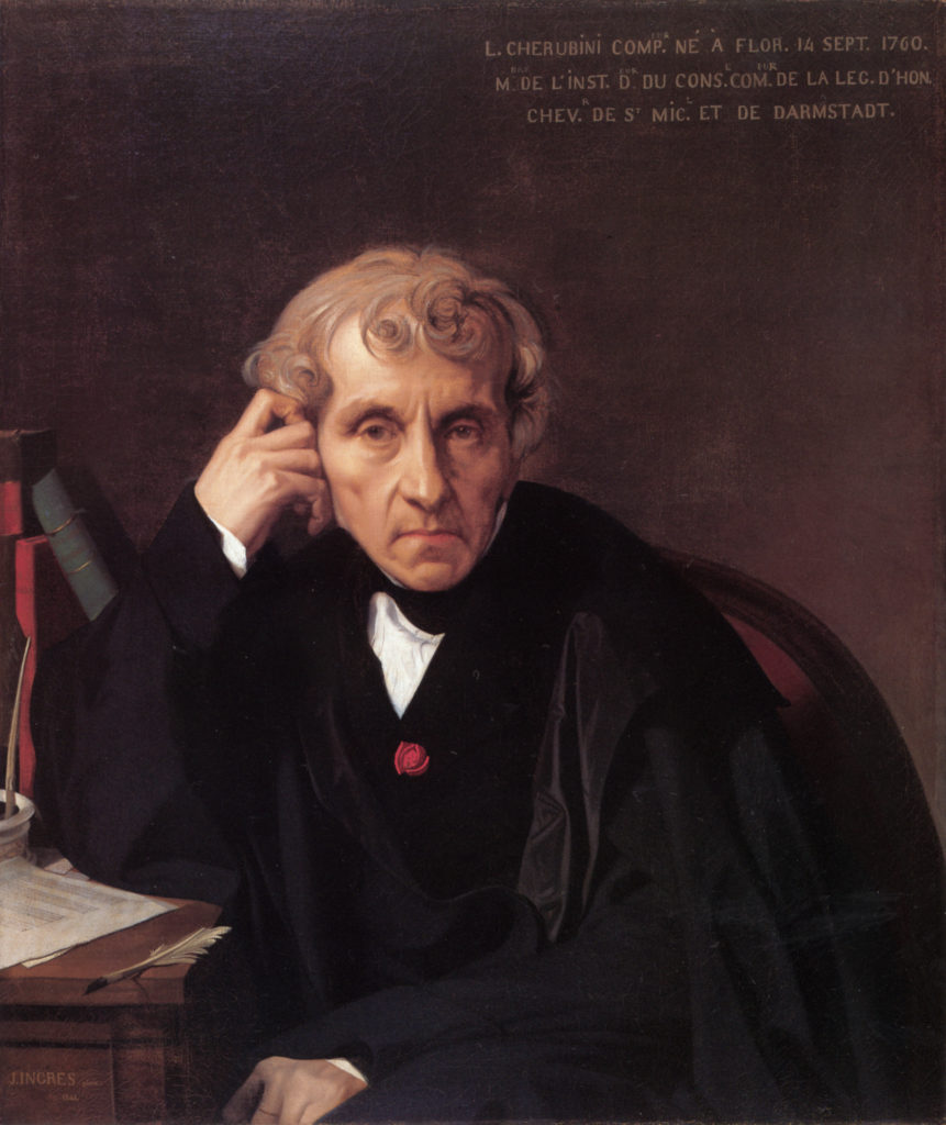 """Portrait of Luigi Cherubini,"" 1841"