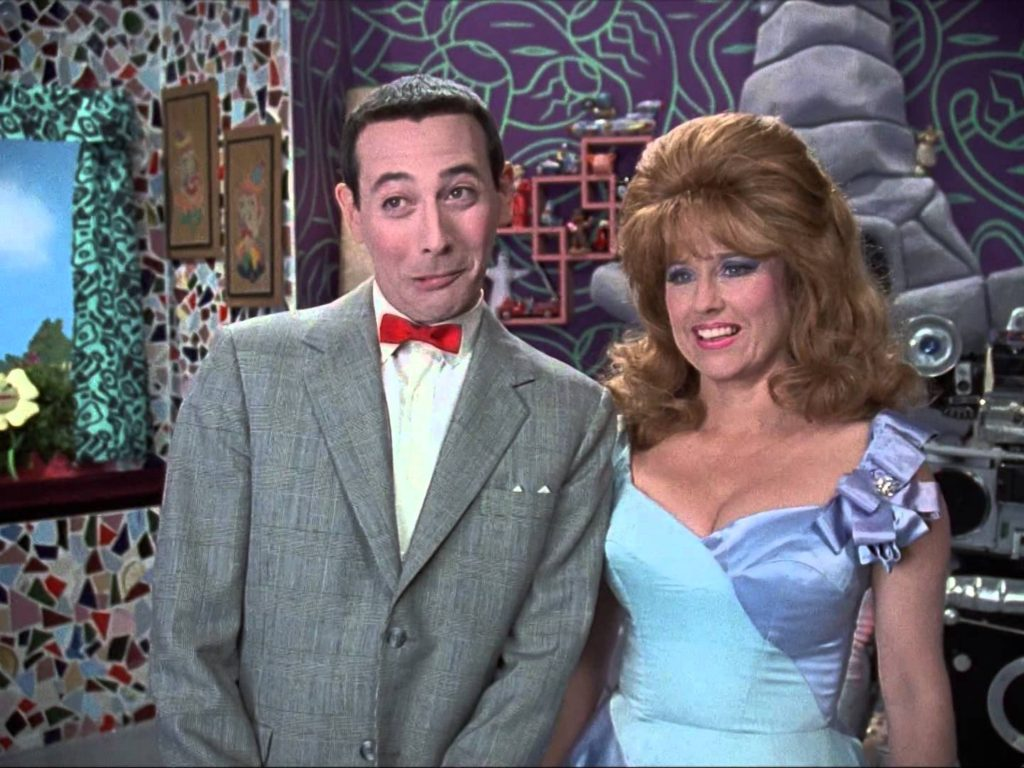 Pee-wee and the most beautiful woman in Puppetland, Miss Yvonne