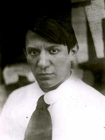 A young Pablo Picasso was also erroneously implicated in the theft