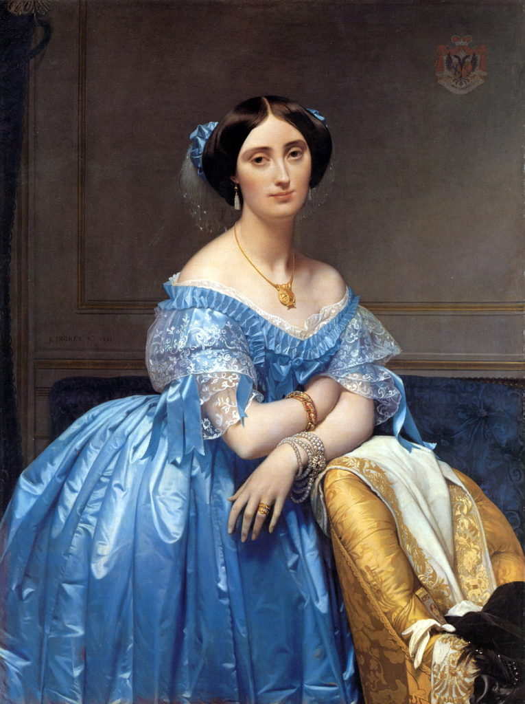 """Princess Albert de Broglie,"" 1850"