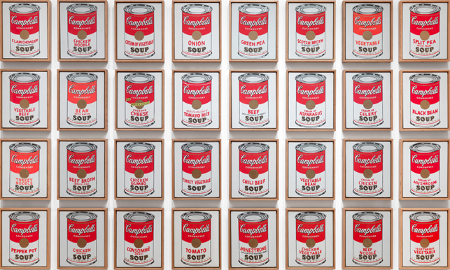 """Campbell's Soup Cans,"" 1962"