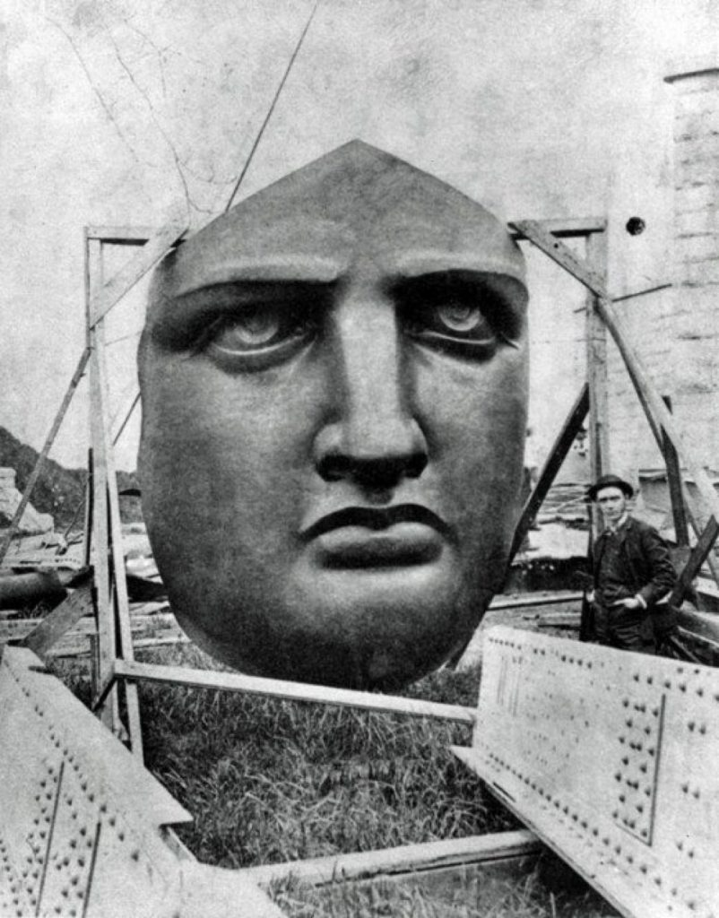 The face of Liberty may have been modeled after Botholdi's mother