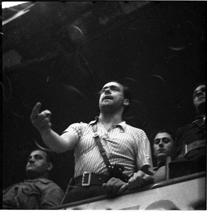 Vittorio Vidali, 1936, Barcelona