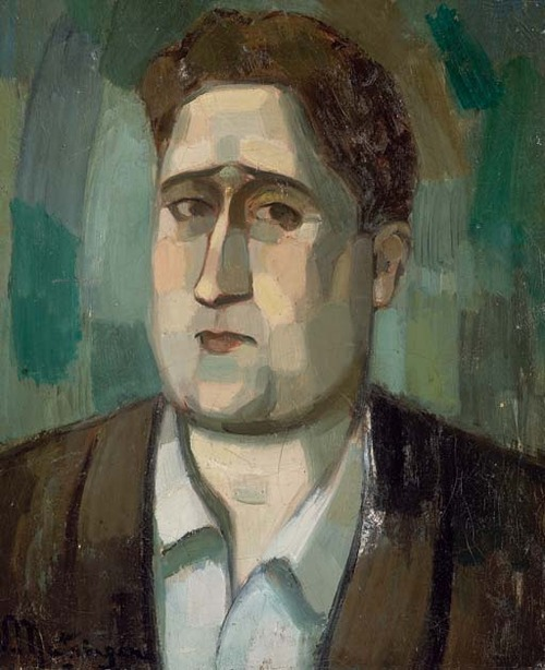 Portrait of Apollinaire by Maurice Vlaminck