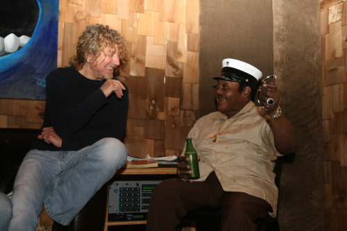 Robert Plant and Fats Domino