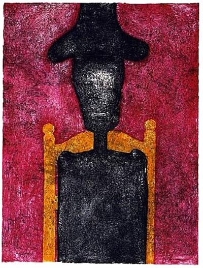 """""""Hombre En Negro,"""" 1976"""