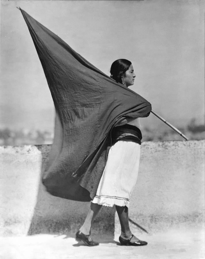 """Woman With A Flag,"" 1928"
