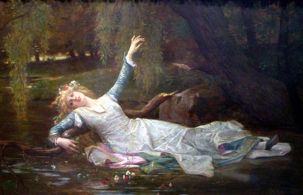 """""""Ophelia,"""" 1883"""
