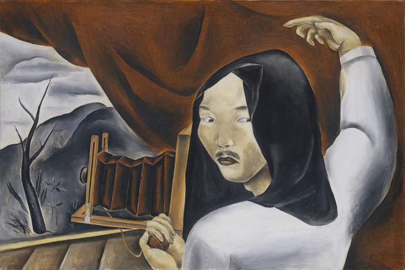 """Self-Portrait as a Photographer,"" 1924"