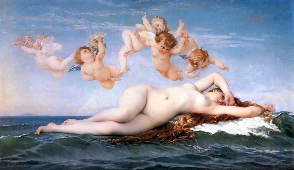 """The Birth Of Venus,"" 1863"