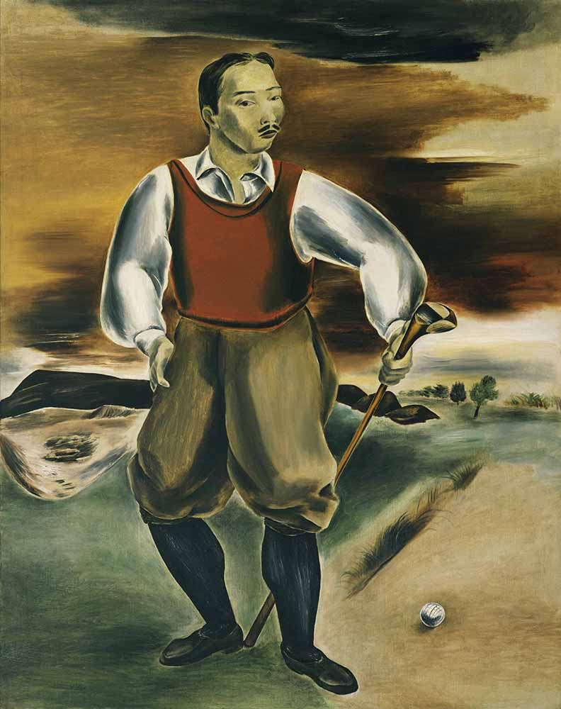 """Self Portrait As A Golfer,"" 1927"