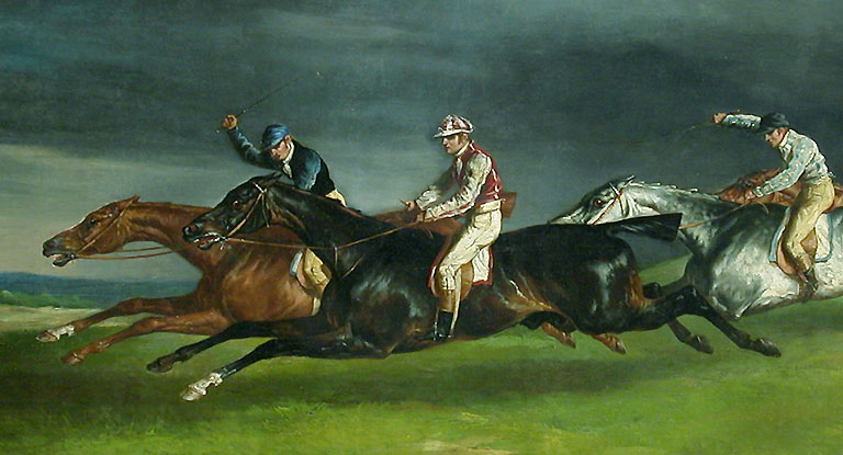 """The Derby Of Epsom,"" 1821"