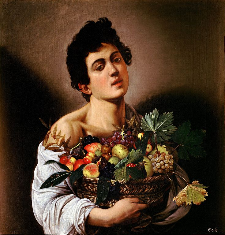 """Boy With A Basket Of Fruit,"" 1593"