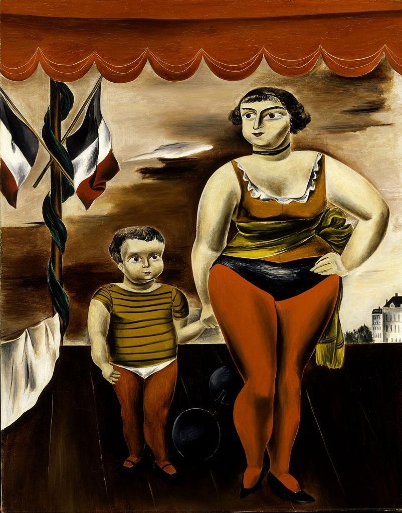 """Strong Woman And Child,"" 1923"