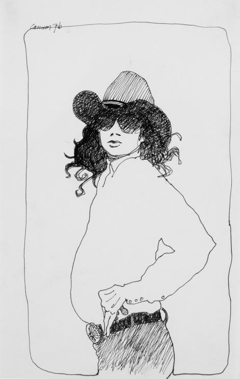 """Self Portrait,"" 1976"