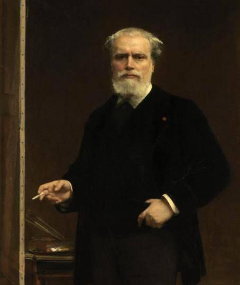 Self portrait, 1870