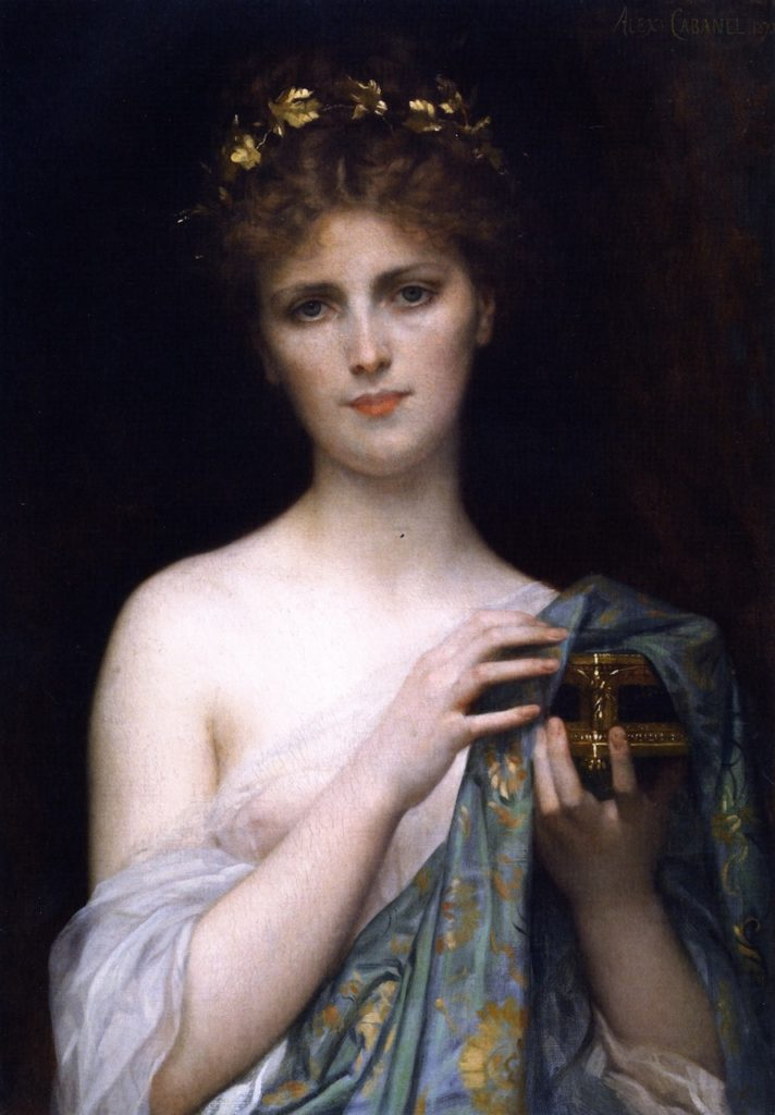 """Christina Nilsson as Pandora,"" 1873"