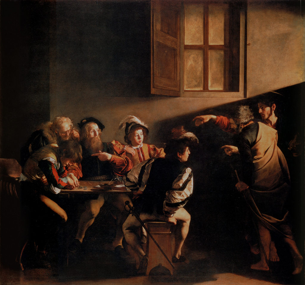 """The Calling of Saint Matthew,"" 1599"