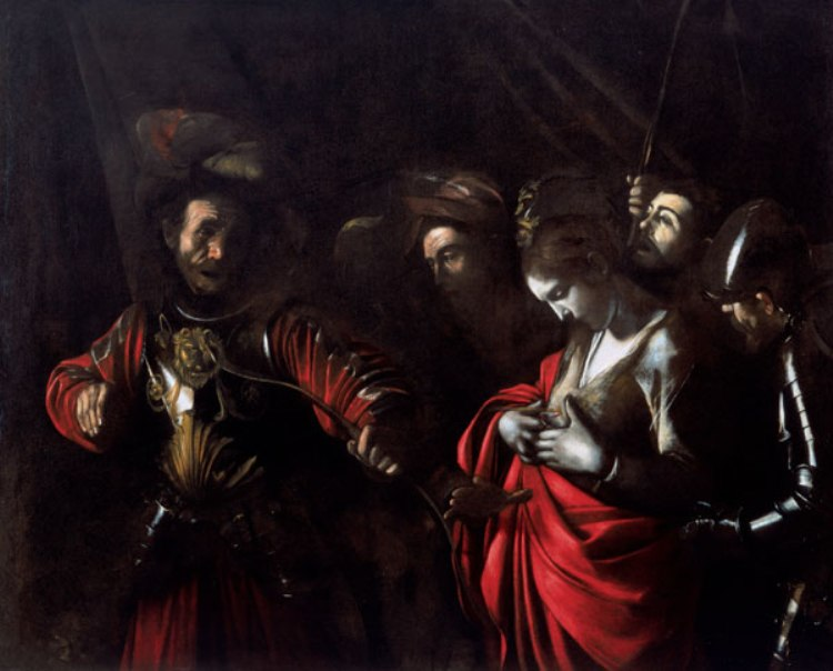 """Martyrdom of St. Ursula,"" 1610 - Caravaggio's last known painting"