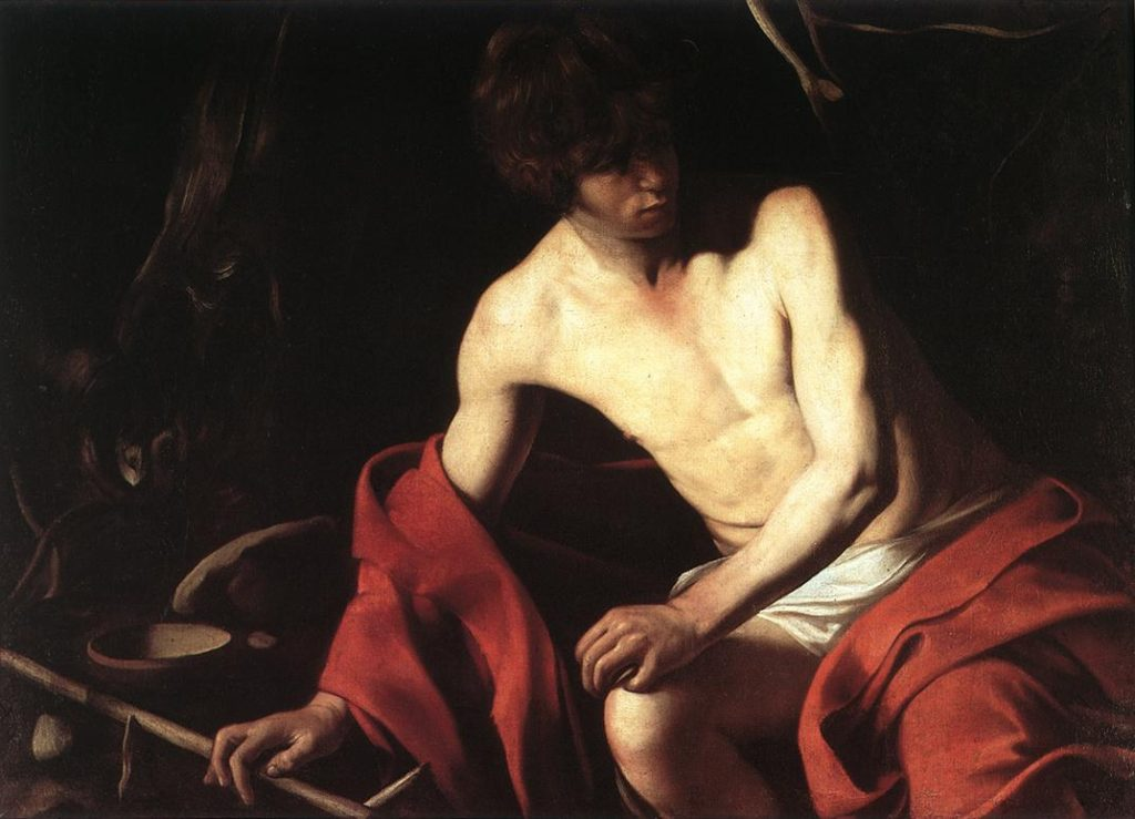 """John The Baptist,"" 1604"