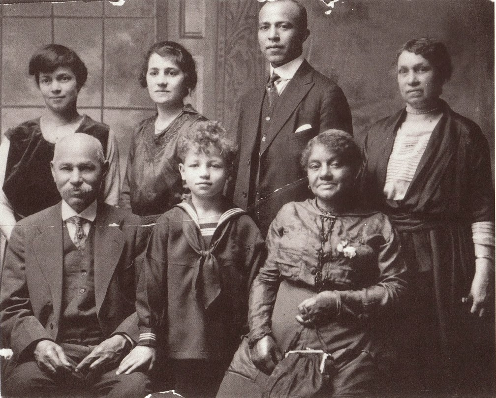 Bearden and his family, c. 19