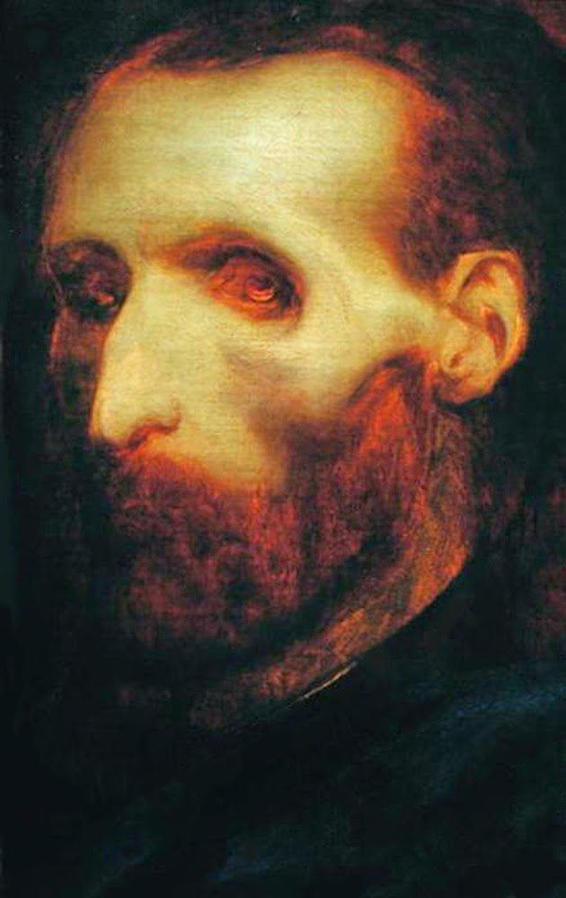 """""""Self Portrait As A Dying Man,"""" 1824 - completed days before his death"""