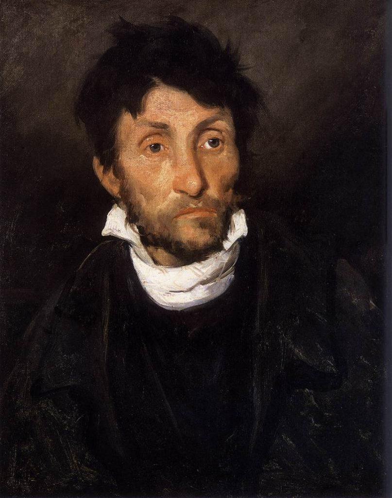 """""""Portrait Of A Kleptomaniac,"""" 1822"""