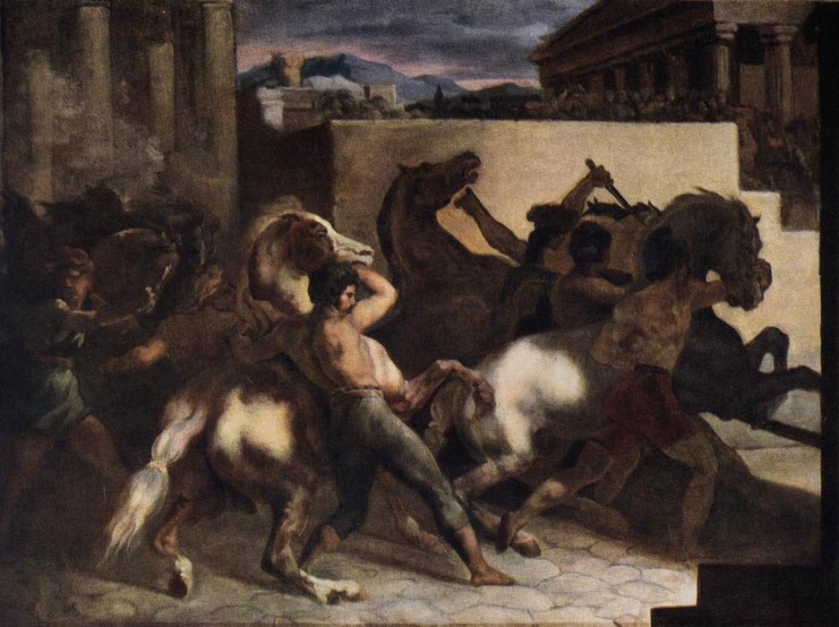 """The Race Of The Barbari Horses,"" 18"