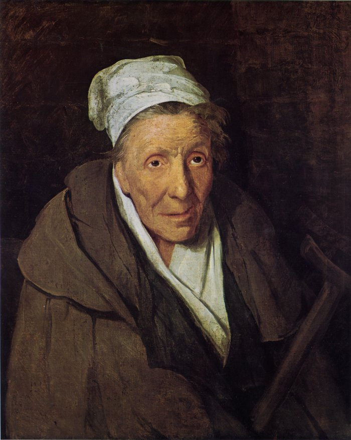 """""""Portrait Of A Woman Addicted To Gambling,"""" 1822"""