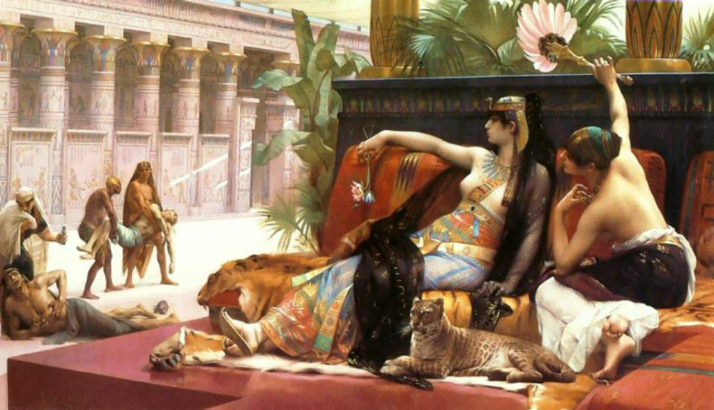 """Cleopatra Testing Poisons On Condemned Prisoners,"" 1887"