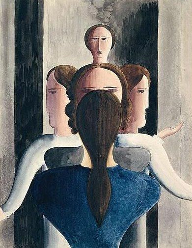 """Concentric Group Of Girls,"" 1928"