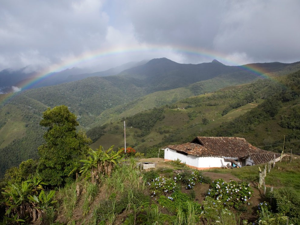 Andes mountains, Venezuela - photo by David Evans
