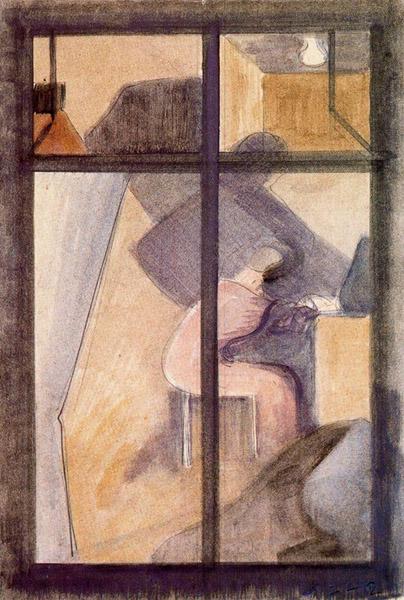 """""""Fensterbilder XII,"""" 1942"""
