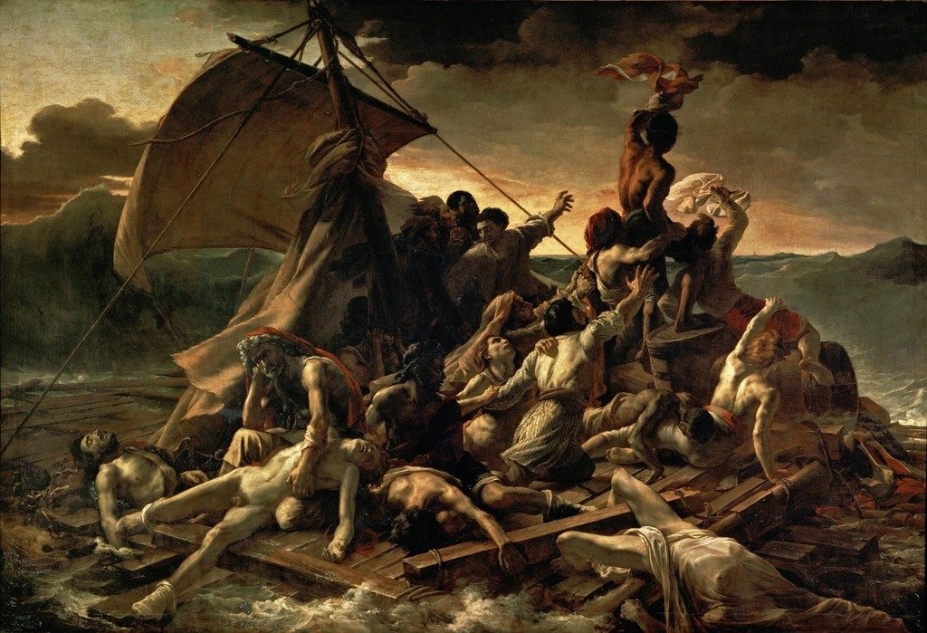 """The Raft Of The Medusa,"" 18"