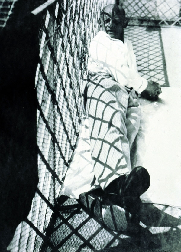 Lˆszl— Moholy-Nagy Oskar Schlemmer in Ascona 1926 Tokyo Metropolitan Museum of Photography, Tokio © VG Bild-Kunst, Bonn 2010
