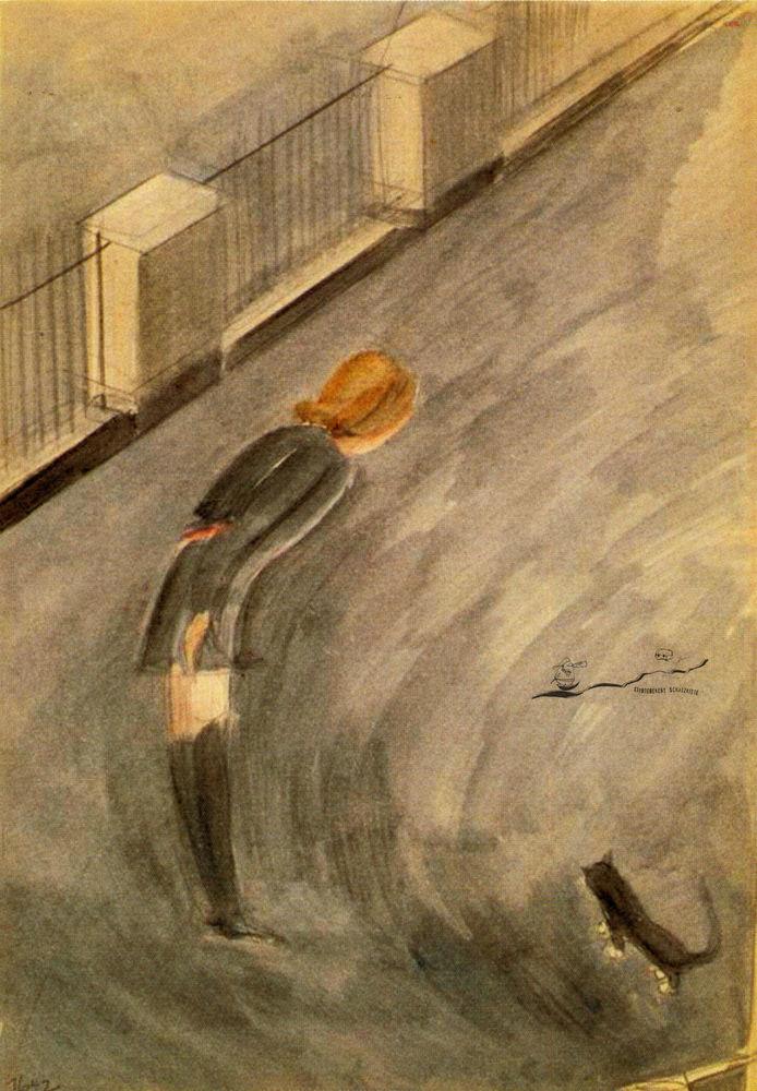 """""""Fensterbilder XIV,"""" 1942"""